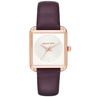Michael Kors Ladies' Rose Gold Tone Strap WAtch - Product number 5141567