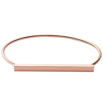 Skagen Anette Rose Gold Tone Bangle - Product number 5141923