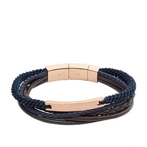Fossil Men's Rose Gold Tone Bracelet - Product number 5142202