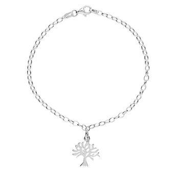 Lily Charmed Silver Tree Bracelet - Product number 5156149