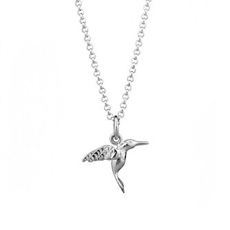 Lily Charmed Silver Hummingbird Pendant - Product number 5156262