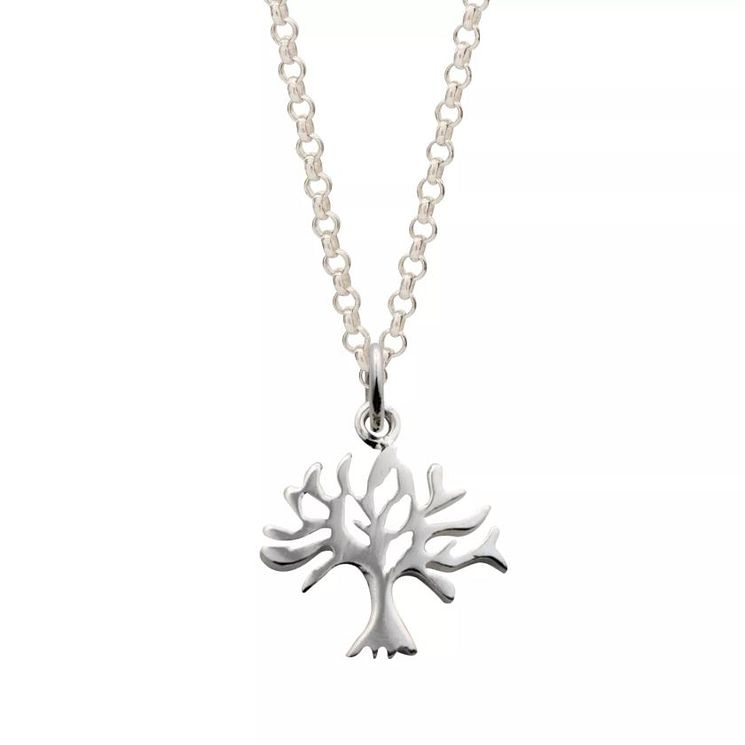 Lily Charmed Silver Tree Pendant - Product number 5156297