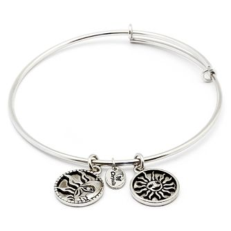 Chrysalis Rhodium plated Strength Bangle - Product number 5156513