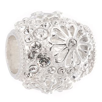 Chamilia Sterling Silver Clear Winter Floral Charm - Product number 5156750