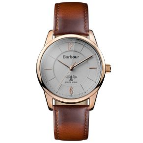 Barbour Men's Rose Gold tone Strap Watch - Product number 5163161