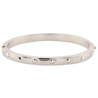 Buckley London London Rocks Rhodium-Plated Bangle - Product number 5164575
