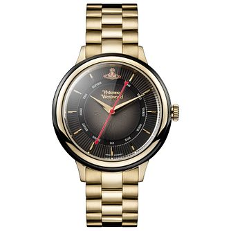 Vivienne Westwood Ladies'  Gold Plated Bracelet Watch - Product number 5168031