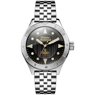 Vivienne Westwood Men's Stainless Steel Bracelet Watch - Product number 5168287