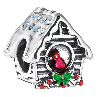 Chamilia Sterling Silver & Enamel Swarovski Birdhouse Bead - Product number 5177650