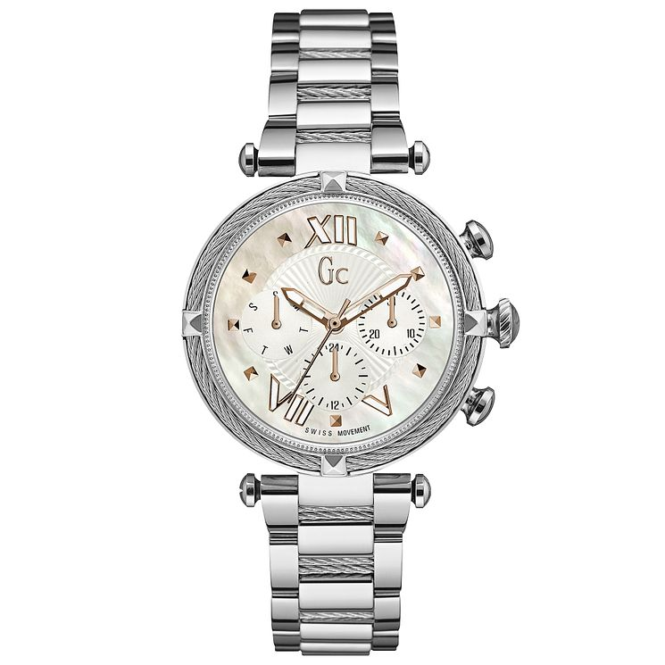 Gc Lady Chic Ladies' Stainless Steel Bracelet Watch - Product number 5177715
