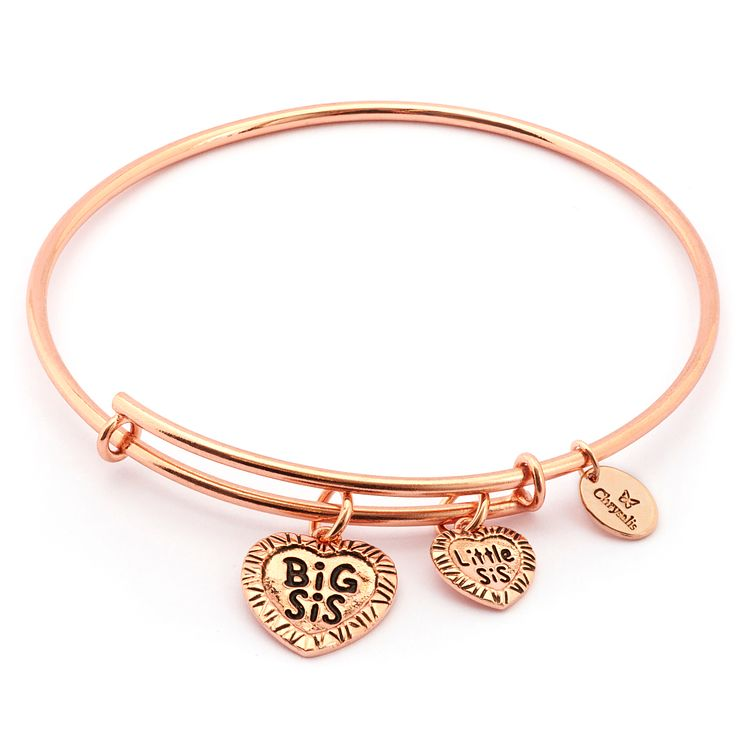 Chrysalis Rose Gold plated Big Sis/Little Sis Bangle - Product number 5192374