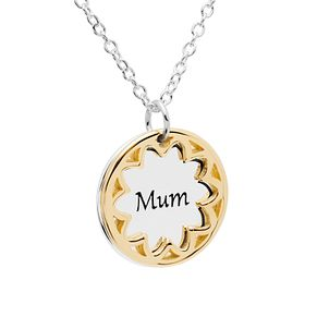 Chamilia Gold Electroplated Mum Treasure Necklace - Product number 5196396