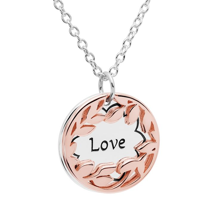 Chamilia Rose Gold Electroplated Love Treasure Necklace - Product number 5196418