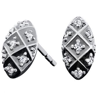 Chamilia Sterling Silver Alight Stud  Earrings - Product number 5196477