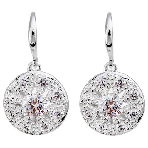 Chamilia Heirloom Lace Regal Sterling Silver Drop Earrings - Product number 5196515