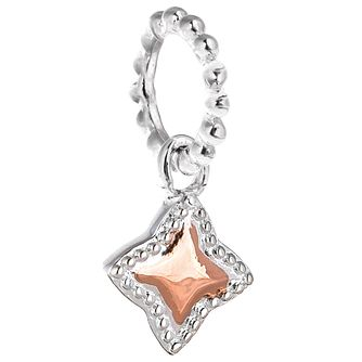 Chamilia Rose Gold Electroplate Milgrain Star Charm - Product number 5196663