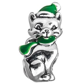 Chamilia Sterling Silver Feeling Festive Cat Bead - Product number 5196760