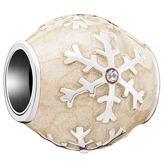 Chamilia Sterling Silver Snow Star Bead - Product number 5196825