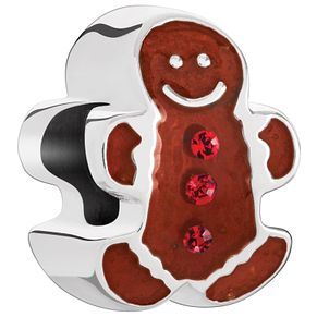 Chamilia Sterling Silver Gingerbread Man Bead - Product number 5196876