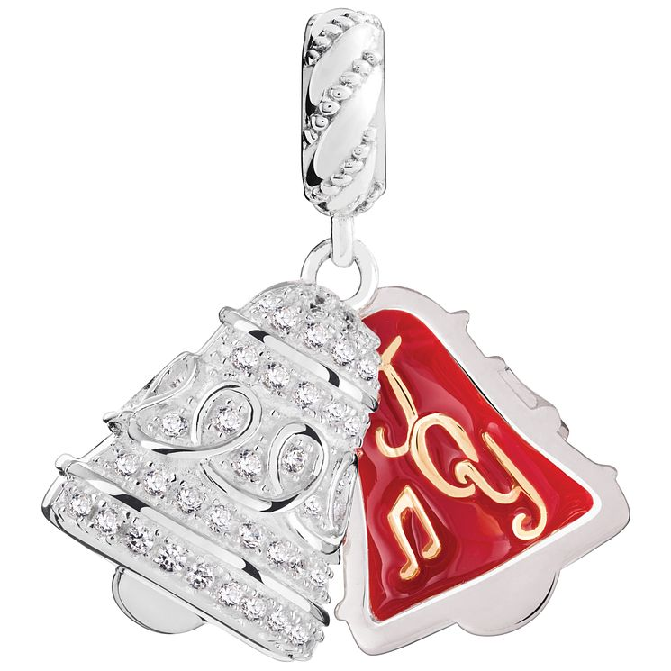 Chamilia Sterling Silver Brilliance Bell Charm - Product number 5196884