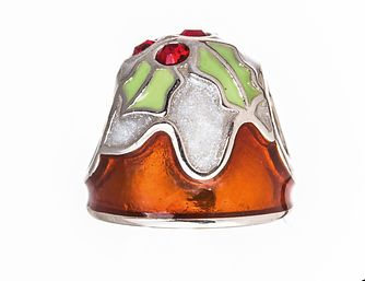 Chamilia Sterling Silver Christmas Pudding Bead - Product number 5196981