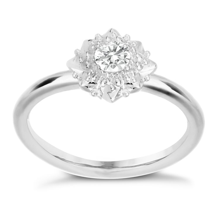 Chamilia Heirloom Lace Filigree Star Silver Ring Size XS - Product number 5198887