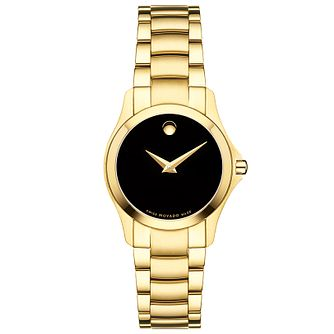 Movado Masimo Men's Gold Tone Bracelet Watch - Product number 5204755