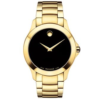 Movado Masimo Men's Gold Tone Bracelet Watch - Product number 5205255