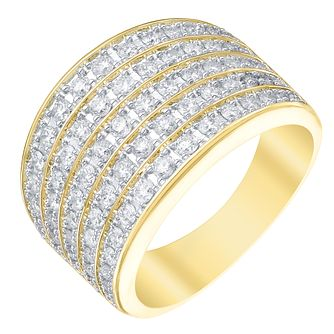 18ct Yellow Gold 1ct Diamond Ring - Product number 5214165