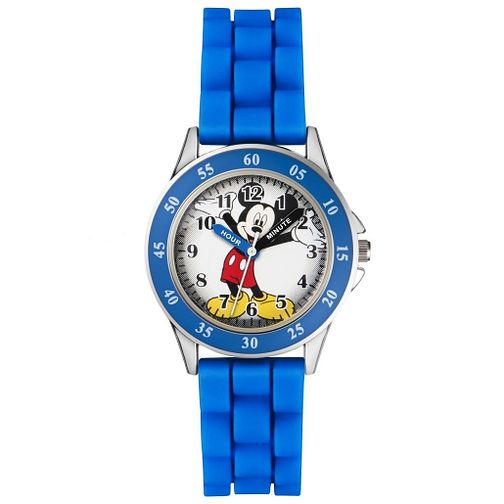 Disney Children's Mickey Time Teacher Blue Strap Watch - Product number 5214866