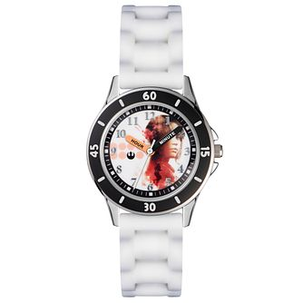 Children's Time Teacher White Silicone Strap Watch - Product number 5214874