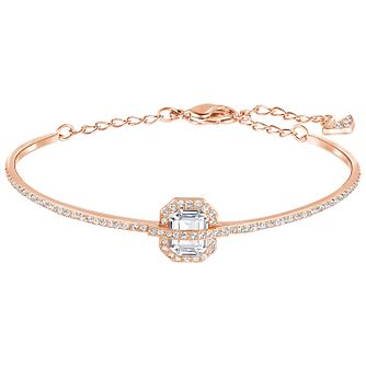 Swarovski Favor Rose Gold Plated Crystal Bangle - Product number 5217105