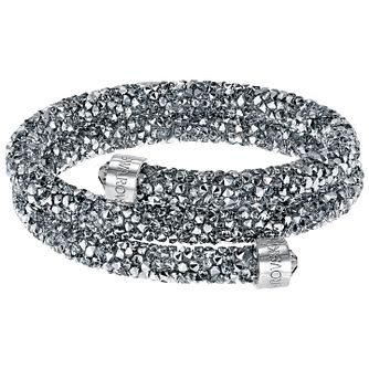 Swarovski Silver Crystal Dust Bangle - Product number 5217164