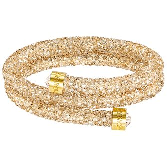 Swarovski Gold Crystal Dust Bangle - Product number 5217172