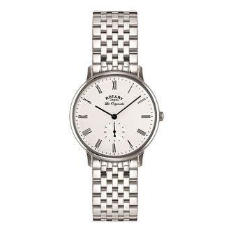 Rotary Kensington Men's Stainless Steel Bracelet Watch - Product number 5220467