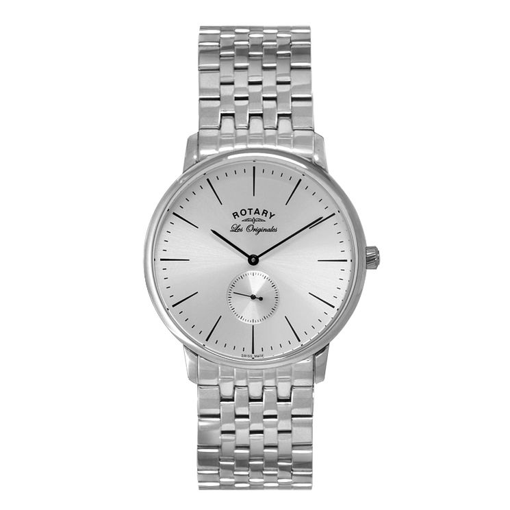 Rotary Kensington Men's Stainless Steel Bracelet Watch - Product number 5220475