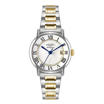 Rotary Caviano Men's Two Colour Bracelet Watch - Product number 5220491