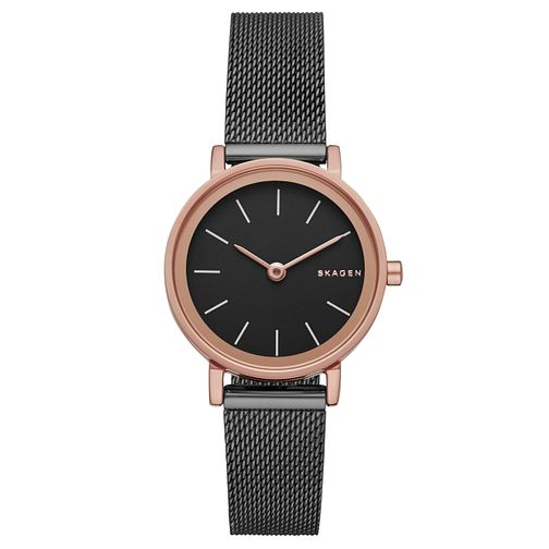 Skagen Ladies' Grey Stainless Steel Mesh Bracelet Watch - Product number 5220769