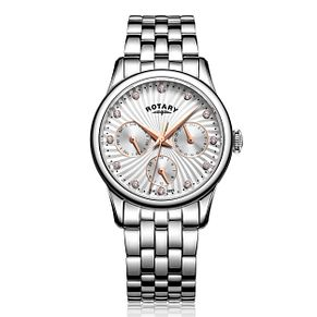 Rotary Ladies' Stainless Steel Bracelet Watch - Product number 5221870