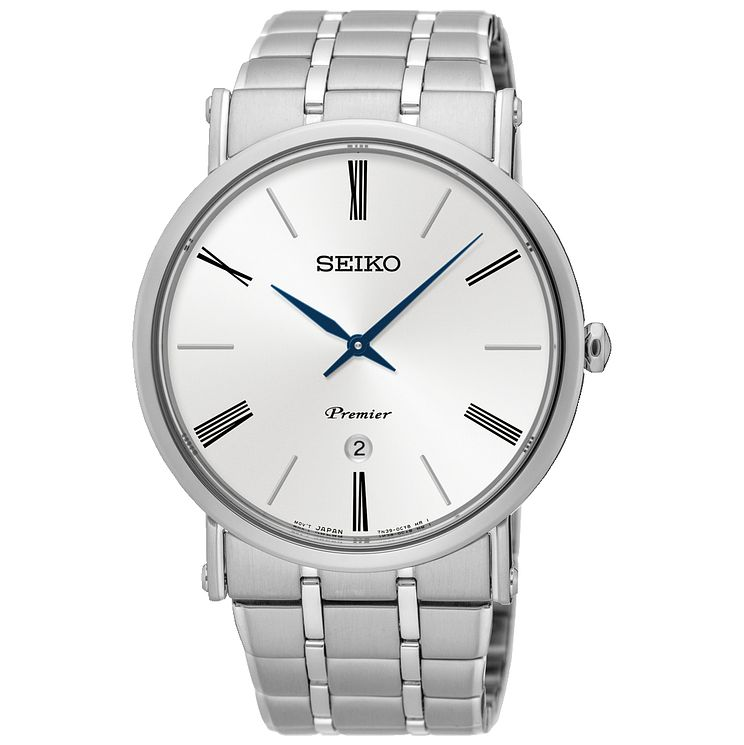 Seiko Premier Men's Stainless Steel Bracelet Watch - Product number 5222281