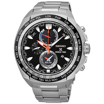 Seiko Prospex World Time Men's Stainless Steel Watch - Product number 5222443
