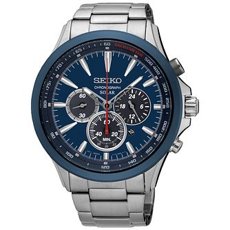 Seiko Conceptual Solar Men's Stainless Steel Bracelet Watch - Product number 5222451