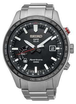 Seiko Sportura Men's Stainless Steel Bracelet Watch - Product number 5222486