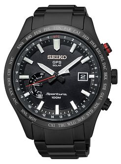 Seiko Sportura Men's Ion Plated Bracelet Watch - Product number 5222494