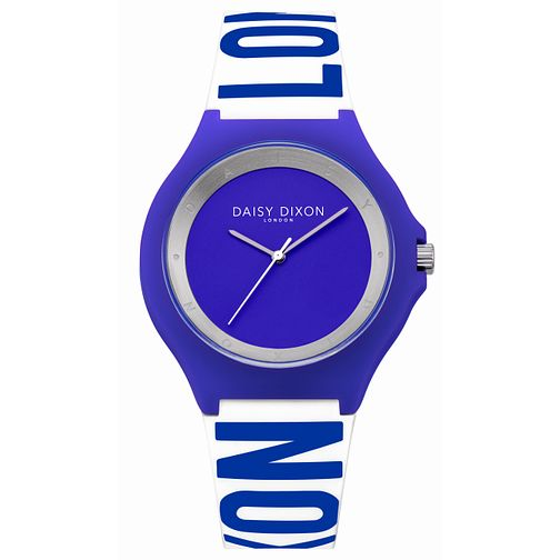 Daisy Dixon Two Tone Silicone Strap Watch - Product number 5223865