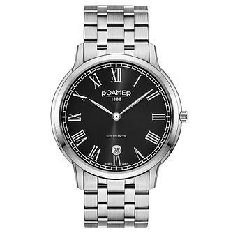 Roamer Super Slender Men's Stainless Steel Bracelet Watch - Product number 5235383