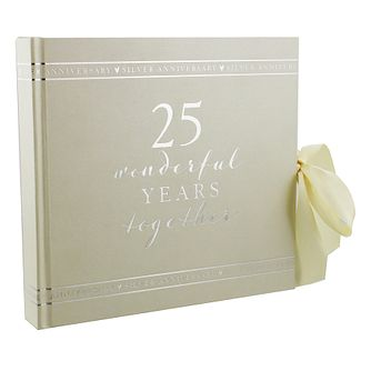 "Amore 25th Anniversary Photo Album 6"" x 4"" - Product number 5235790"