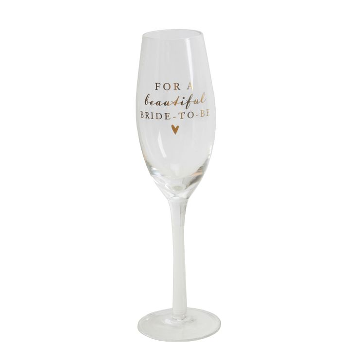 Amore Bride To Be Glass Flute - Product number 5236045