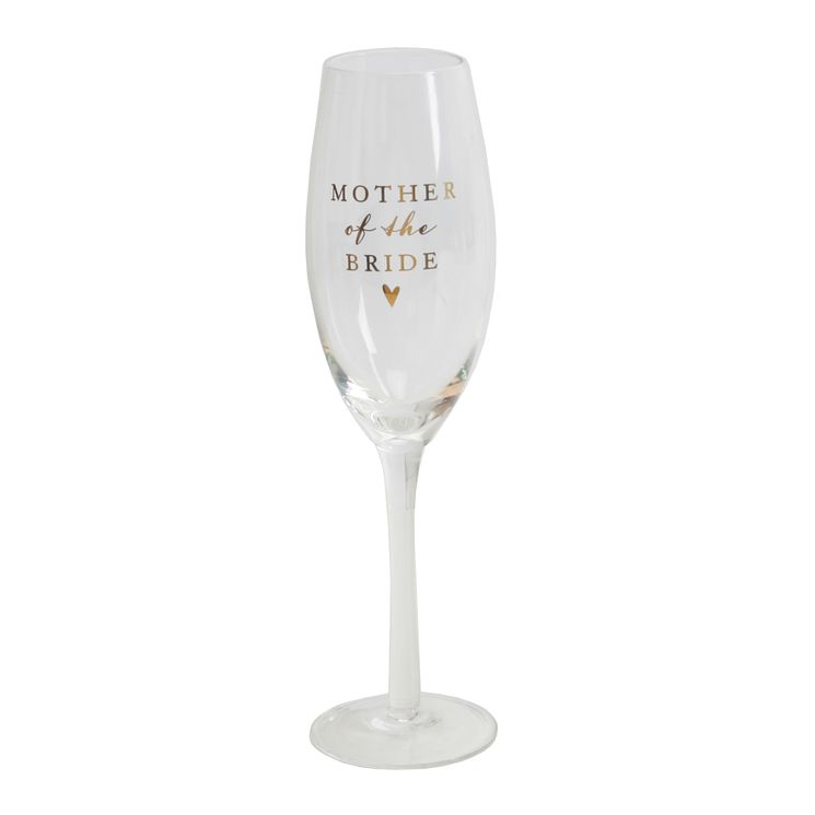 Amore Mother Of Bride Champagne Glass Flute - Product number 5236509