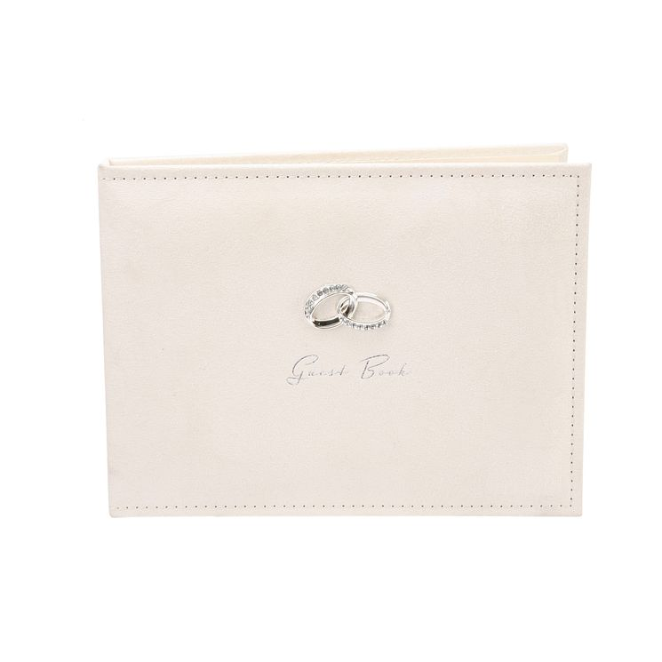 Amore Cream Suede Guestbook - Product number 5239761